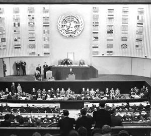 Det historiske FN-møde 10. december 1948